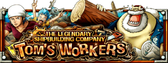 The Legendary Shipbuilding Company Tom's Workers Banner