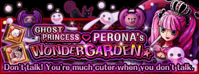 Perona's Wonder Garden Banner