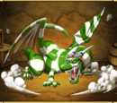Green Striped Dragon