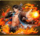 Portgas D. Ace Black Clad Flame Fist