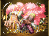 Donquixote Doflamingo Warlord of the Sea