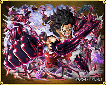 Monkey D Luffy Gear Four Snakeman One Piece Treasure