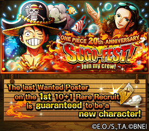 Anniversary Straw Hats Announcement Banner