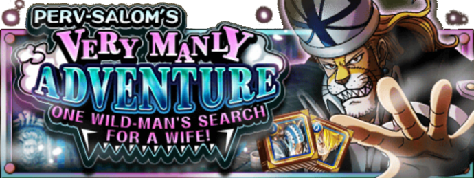Perv-Salom's Very Manly Adventure Banner
