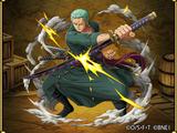 Roronoa Zoro Swordsman Cutting Through the New World