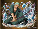 Roronoa Zoro Master Swordsman Felling the New World
