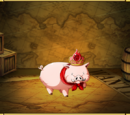 Red Jeweled Porc