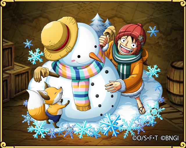One Piece Treasure Cruise Luffy Winter Island