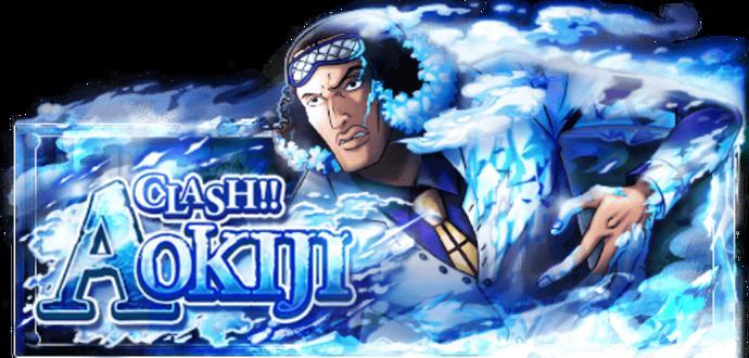 Clash!! Admiral Aokiji Banner