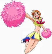 Nami cheerleader