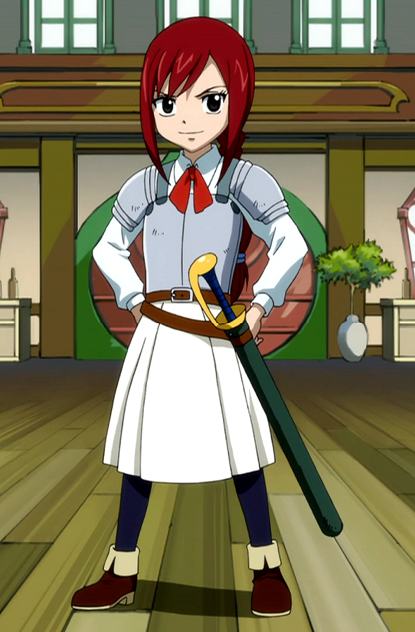 Elza Scarlett from the anime Tail of the Fairy: description and biography of the character