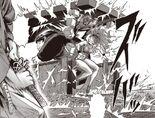 Atomic Samouraï donne de l'aide pour descendre Pur Porc