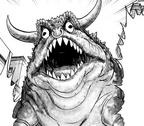 Боевая лягушка-бык, манга