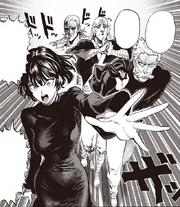 Saitama's group head out