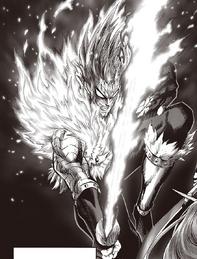 Hellfire en forma Monstruosa