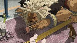Roi des fauves et Dragotaupe menacent Saitama