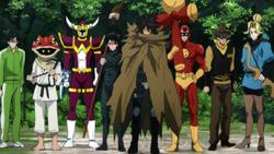 Death-Gatling et son équipe