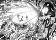 Rover atacando a Bang, Bomb y Fubuki