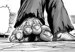 Suiryû coincé sous un pied