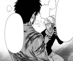 King saved by Saitama