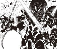 Roi des monstroterres rêvé en manga