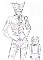 Falot et Garoh en tenues élégantes par Murata