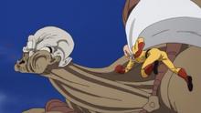 Saitama kills Marugori