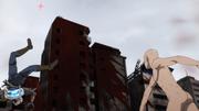 Saitama kills Mosquito Girl and saves Genos from self-destructing