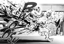 Genos chunking a monster