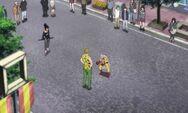 Tiger Marcel interpelle Saitama dans la rue