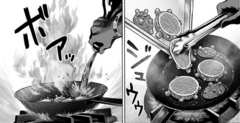 Sonic cooking Monster Cells
