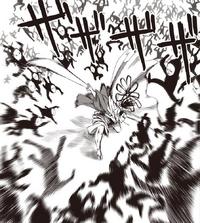Black Sperm attacks Atomic Samurai
