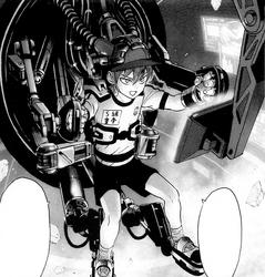 Brave giant cockpit