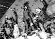 Fubuki y el GB reducidos por Demonio V