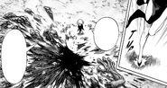 Tatsumaki sees killed monster