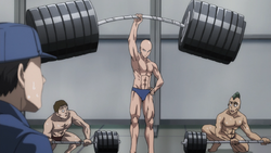 Saitama's overwhelming strength