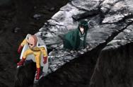 La déflagration n'a pas touché Fubuki grâce à Saitama