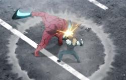 Démon Cyborg VS Coupe-Tête