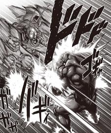 Bug God attacking Superalloy Darkshine
