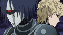 Drive Knight gives advice to Genos