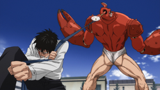 Saitama kills Crablante