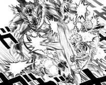Genos VS le Roi des profondeurs (manga)