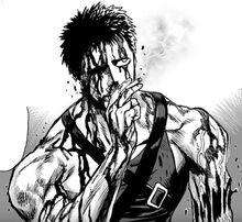 Zombieman descanzando