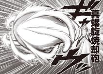 Vrai Canon Incinérateur Tourbillonnant (manga)