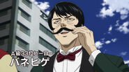 Spring Mustache (One-Punch Man Ep 6)