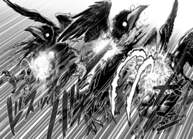 Suiryu, Sneck, and Lightning Max vs. The Three Crows