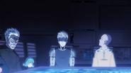 Bang, Tatsumaki, Genos and Saitama