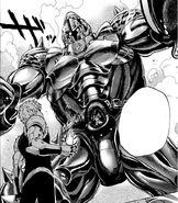 Genos vs. Armored Gorilla