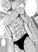 Saitama's physique