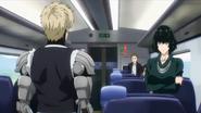 Genos commanding Fubuki